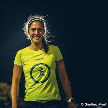 Hélène au marathon de New York pour Kickcancer