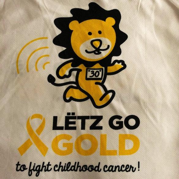 Lëtz Go Gold for the children