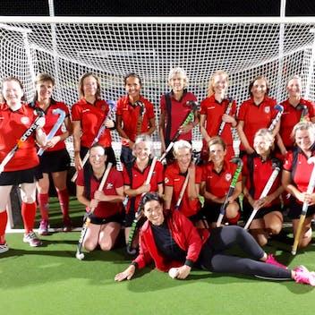 Les Ladies1 Hockey Namur