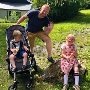 Wim wandelt tegen kinderkanker