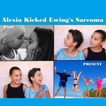 Alexia Kicked Ewing's Sarcoma (Dad)