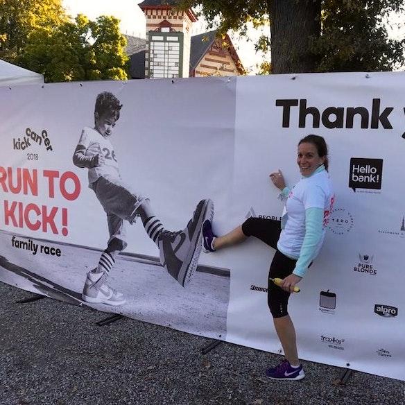 Marta running for kids