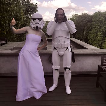 May the force kick cancer